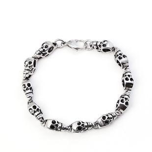 Simple Titanium steel  Bracelet (Alloy)  NHIM0499's discount tags