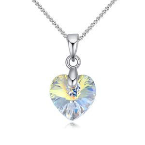 Austrian Imitated crystal Necklace - Little Sweetheart (White) NHKSE25774