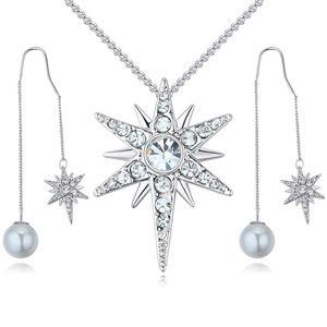 Import Imitated crystal Set - Love Badge (White) NHKSE25756