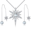 Import Imitated crystal Set  Love Badge White NHKSE25756
