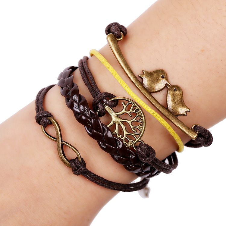 Occident and the United States alloy  bracelet NHNPK0753