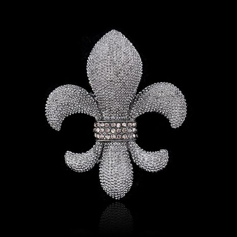 Ruili alloy Rhinestone brooch (Grab black AC139-B)  NHDR1687-Grab black AC139-B's discount tags
