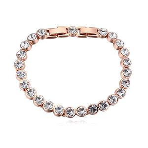 Austrian Imitated crystal Bracelet - Water Yingying (Extended Chain) NHKSE25952