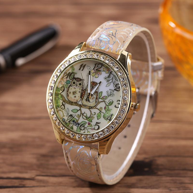 fashion   Watch (Beige)  NHHK0802-Beige