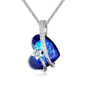 Austrian Imitated crystal Necklace  Star Dream Love NHKSE25947