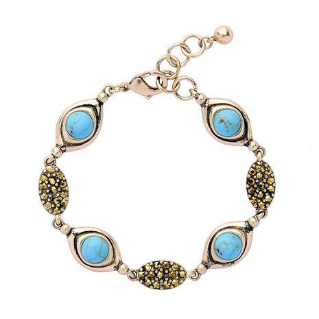 alloy Rhinestone Bracelet NHQD3945's discount tags