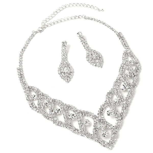 Simple alloy plating Jewelry Sets (Alloy suit)  NHIM0678-Alloy suit