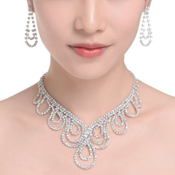 Simple alloy plating Jewelry Sets (Alloy suit)  NHIM0679-Alloy suit