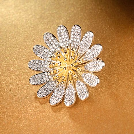 Korea Alloy  BroochFlowers (Rose alloy)  NHLJ3453-Rose alloy's discount tags