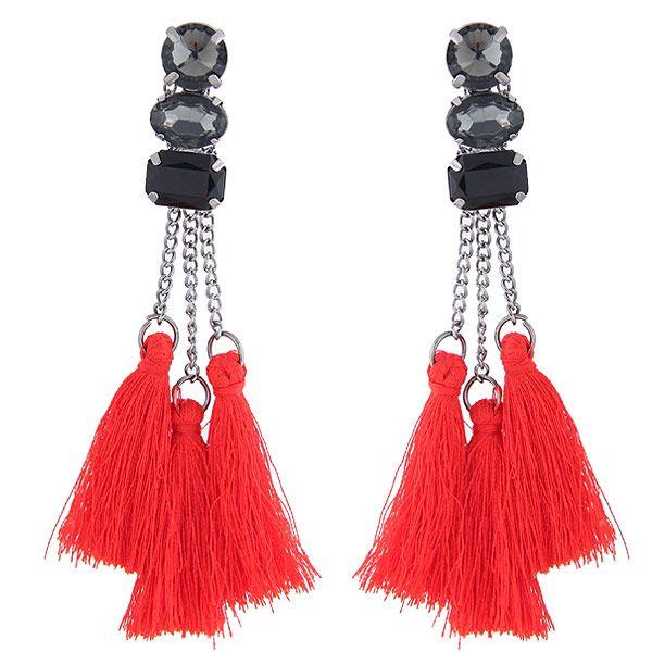 Alloy Fashion earring NHNSC10119
