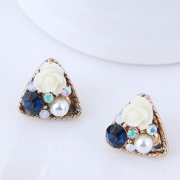 Alloy Fashion earring NHNSC10176