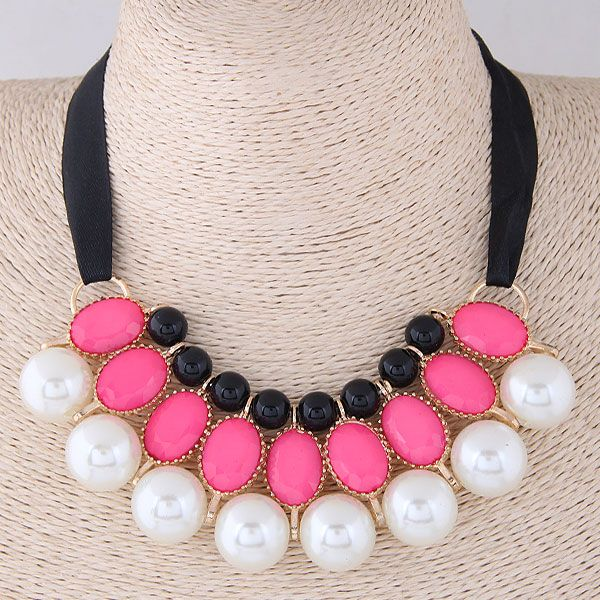 Alloy Fashion necklace NHNSC10223