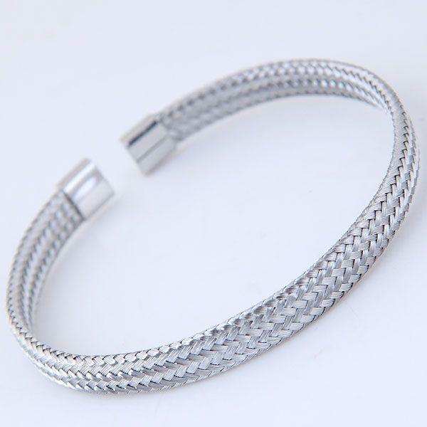 Alloy Fashion Bracelets NHNSC10283