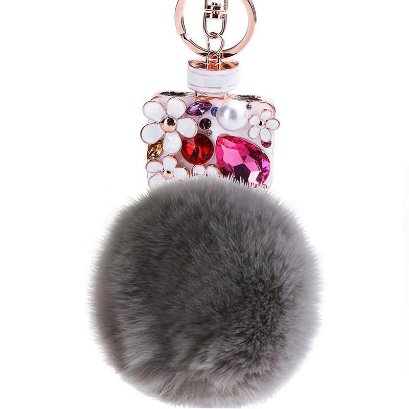 Alloy Fashion Animal key chain  (1- gray) NHMM2127-1- gray