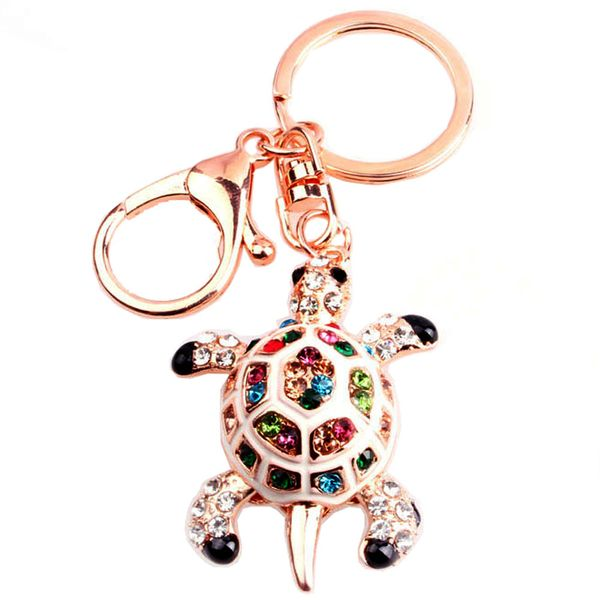 Alloy Fashion Animal key chain  (Figure color) NHMM2140-Figure color