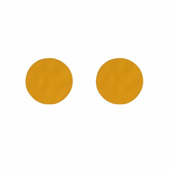 Alloy Korea Geometric earring  (yellow) NHWF3167-yellow