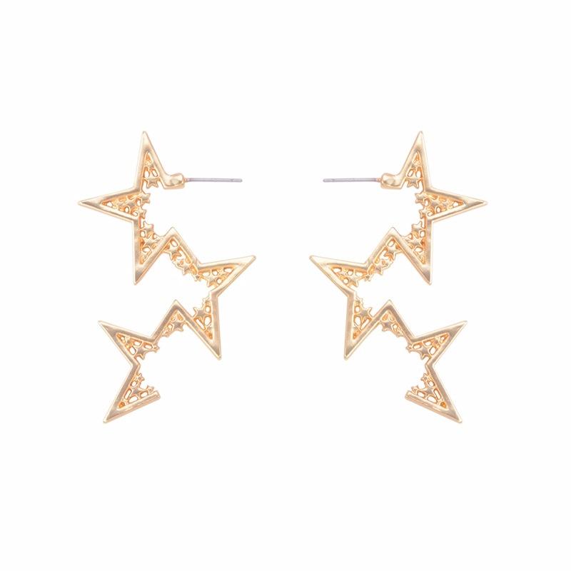 Alloy Fashion Geometric earring  (Alloy) NHYT0879-Alloy