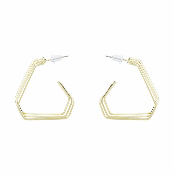 Alloy Fashion Geometric earring  (Alloy) NHYT0888-Alloy