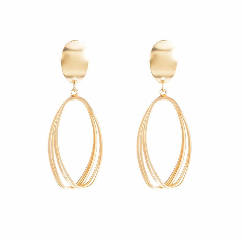 Alloy Fashion Geometric earring  (Alloy) NHYT0898-Alloy