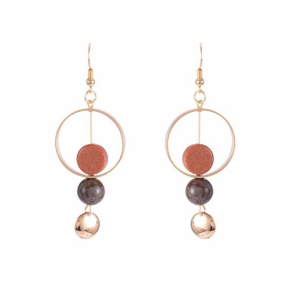 Alloy Fashion Geometric earring  (Ear hook models) NHYT0907-Ear hook models