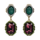 Imitated crystalCZ Vintage Geometric earring  color NHJJ3959color