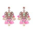 Alloy Fashion Geometric earring  Pink NHJJ3963Pink