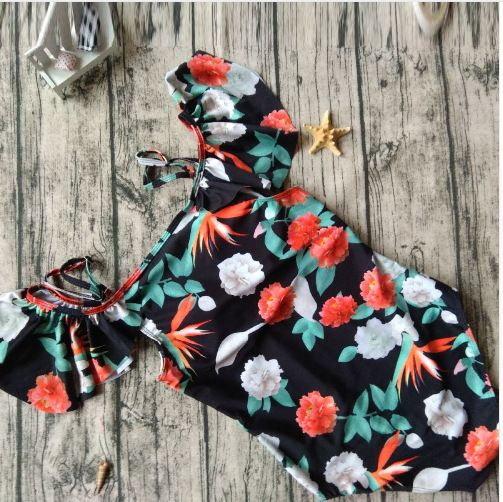 Polyester Fashion  Swimsuit  (1807-printing-S) NHHL0284-1807-printing-S