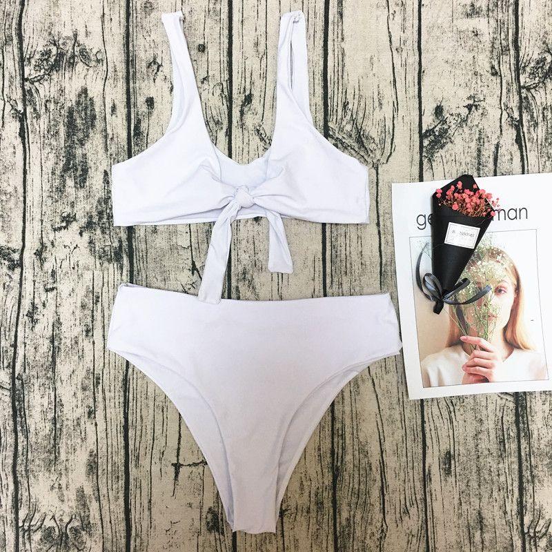 Cotton Fashion  Bikini  (White-S) NHHL0287-White-S