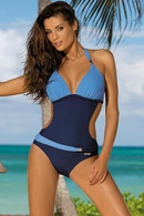Polyester Fashion  Swimsuit  Picture color 1S NHHL0002Picture color 1S
