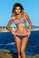 Polyester Fashion  Bikini  YellowM NHHL0063YellowM