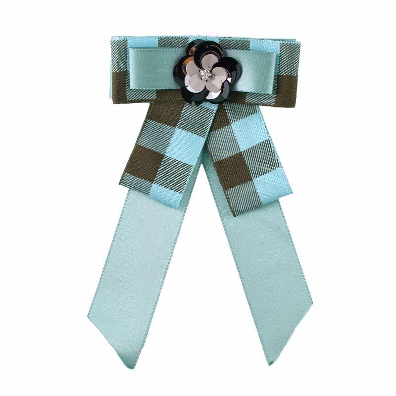 Alloy Fashion Bows brooch  (green) NHJQ9870-green