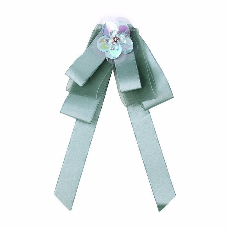Alloy Fashion Bows brooch  green NHJQ9871green