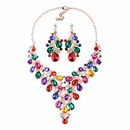 Alloy Fashion Sweetheart necklace  red NHJQ9901red