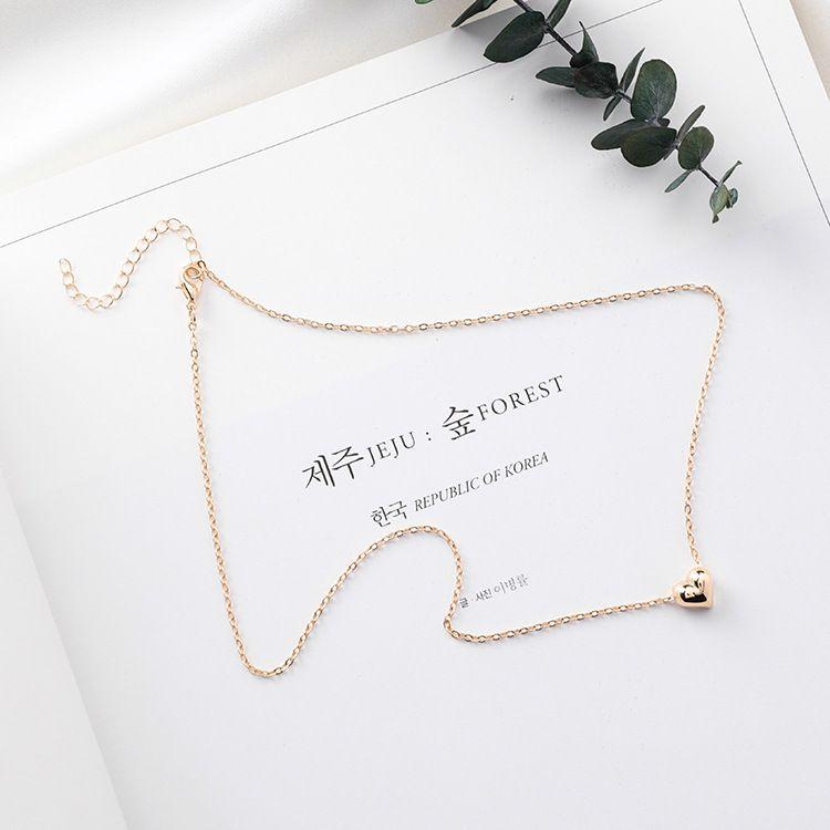 Alloy Korea Sweetheart necklace  (A alloy color) NHMS0384-A alloy color