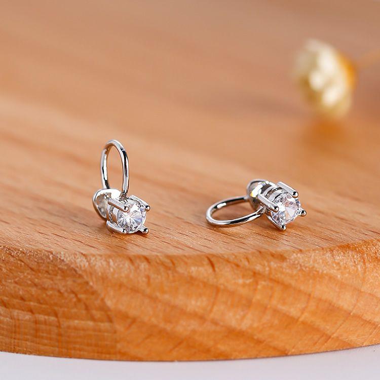 Alloy Korea Geometric earring  (1) NHMS0396-1