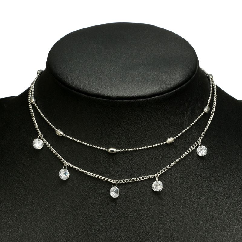Alloy Fashion  necklace  Main section NHGY1024Main section