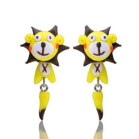 Imitated crystal&CZ Fashion Animal earring  (The main color) NHGY1164-The main color's discount tags