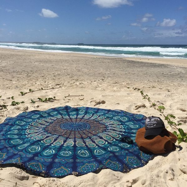 Polyester Bohemia  Beach towel  (24-150x150) NHDF0069-24-150x150