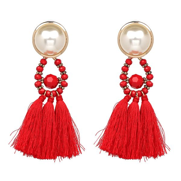 Fashion Beads Geometric  NHJJ3931-red