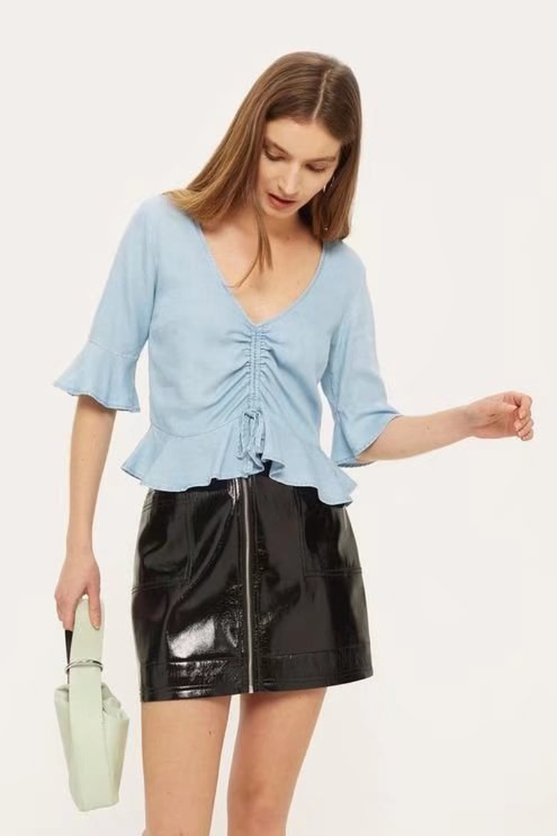 Sexy & Party Polyester  shirt  (Picture color -S)  NHAM1490-Picture color -S