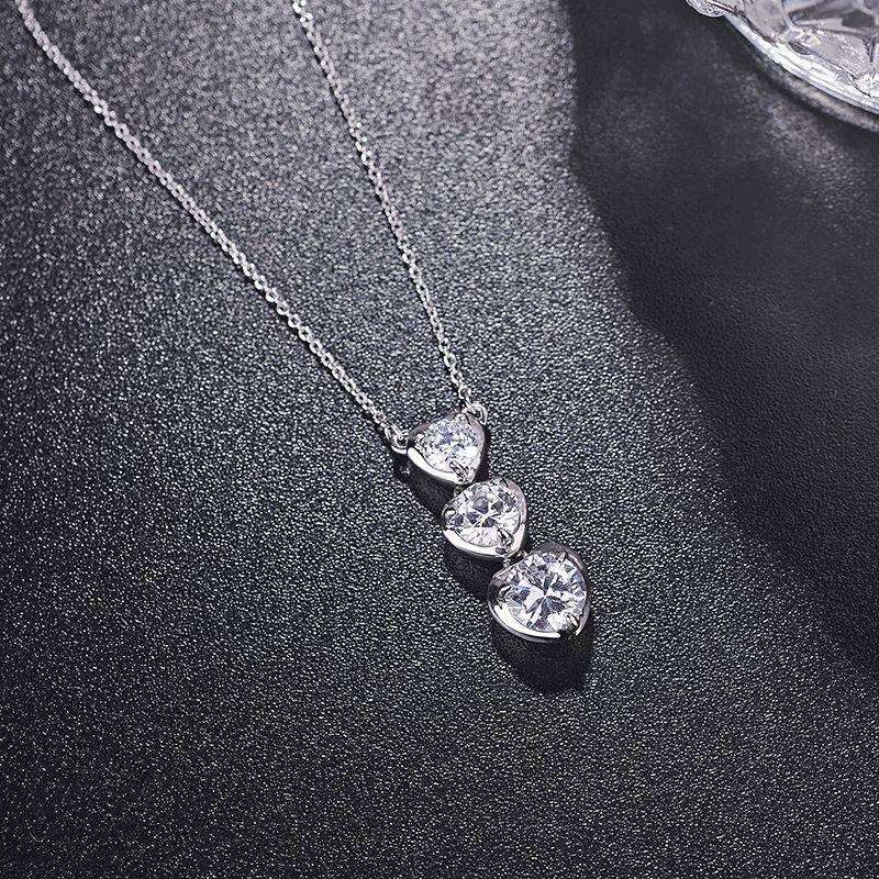 Alloy Fashion Sweetheart necklace  (Alloy white) NHLJ3675-Alloy white