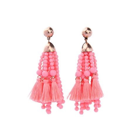 Alloy Fashion Geometric earring  (Pink -1) NHQD4444-Pink -1's discount tags