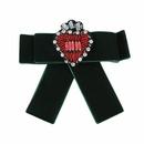 Alloy Fashion Bows brooch  green NHJQ9941green