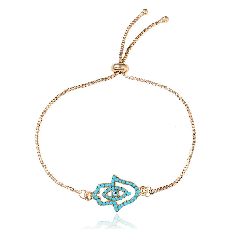 Simple Alloy plating Bracelets Geometric Mixed colors  NHNZ0335Mixed colors