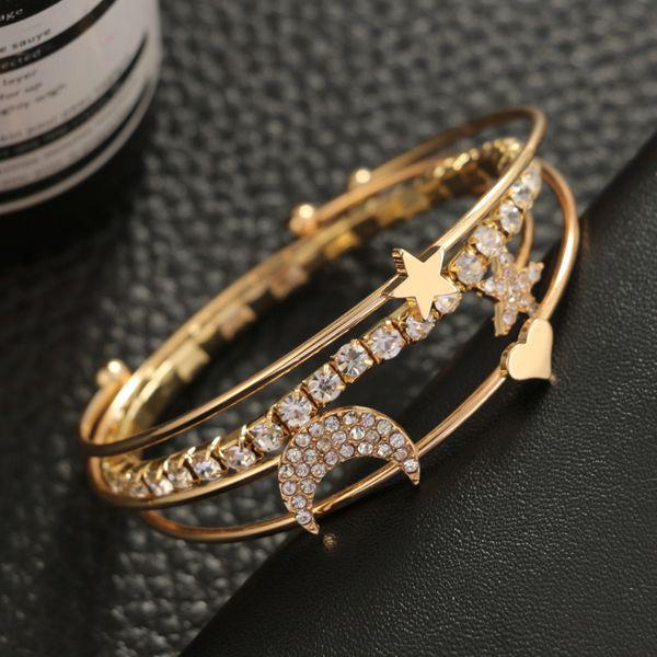 Fashion Alloy plating Bracelets Geometric (Alloy)  NHGY0967-Alloy