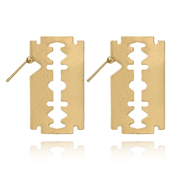 Fashion Alloy plating earring  (alloy)  NHGY0974-alloy