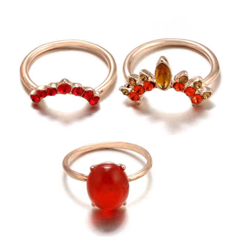 Fashion Alloy plating Rings  (The main figure -7)  NHGY0978-The main figure -7