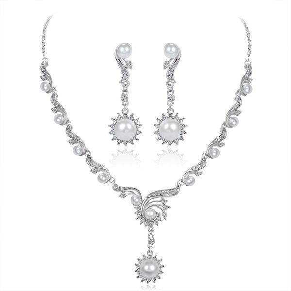 Korea Alloy plating Jewelry Set  (Alloy)  NHDR2363-Alloy