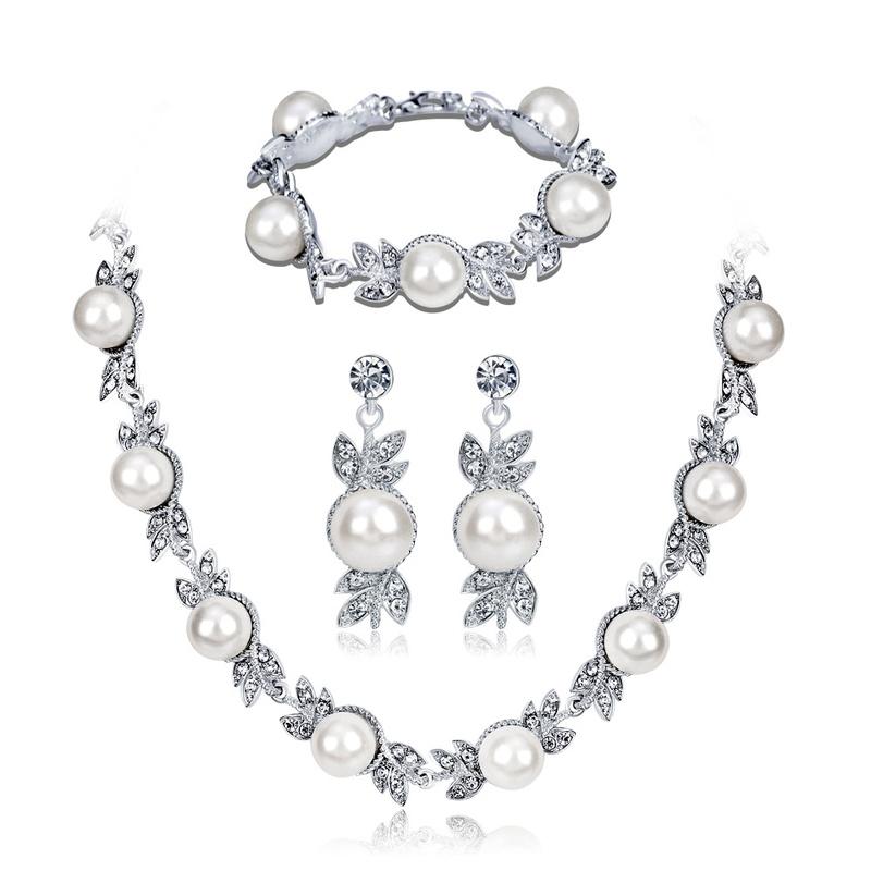 Korea Alloy plating Jewelry Set  (Alloy)  NHDR2366-Alloy