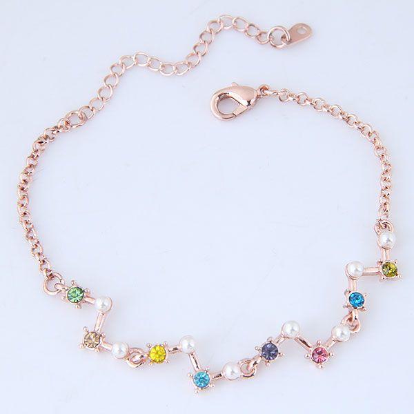 Alloy Bracelets NHNSC10029
